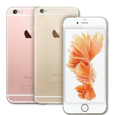 Apple iPhone 6S Smartphone 16GB Unlocked Cell Phone a1688 Silver Rose Gold