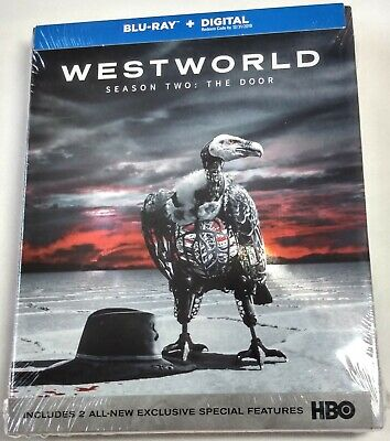 WESTWORLD SEASON 2 THE DOOR Brand New Sealed BLU-RAY Release HBO Two West World