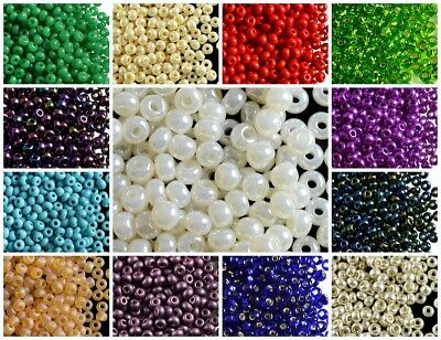 CHOOSE COLOR 20g 60 3-7-4-3mm Seed Beads Preciosa Ornela Czech Pressed Glass
