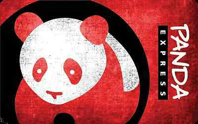 Panda Express Gift Card - 25 50 or 100 - Email delivery
