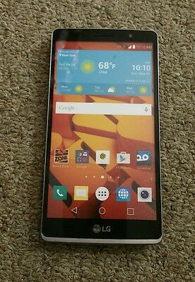 Demo phone LG Stylo LS770 boost mobile display phone only