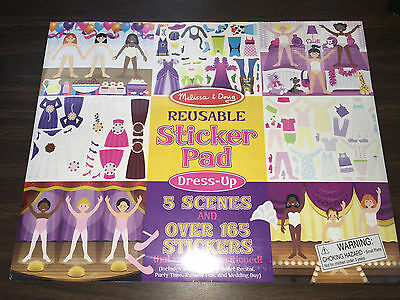 New Melissa - Doug Reusable Sticker Pad - Dress-Up 4198 Ballet Wedding Party