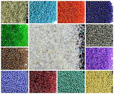 CHOOSE COLOR 20g 110 2-1mm Seed Beads Rocailles Preciosa Ornela Czech Glass