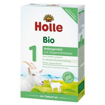 Holle Organic Goat Milk Stage 1 4 boxes x 400g FAST SHIPPING Expires 082019