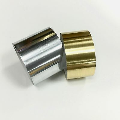 Brushed Aluminum  Stainless Steel Tape Choose Your Color and Sizes