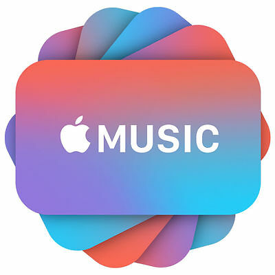 Apple Music Codes - 29-97 or 99 - Fast Email Delivery
