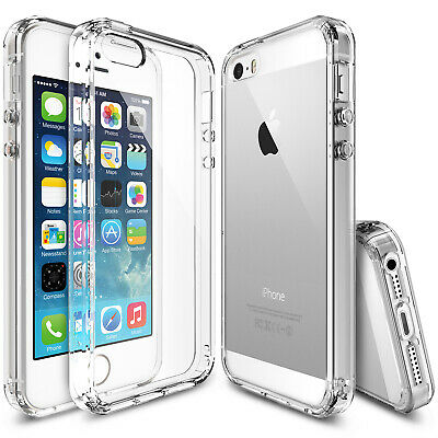 For Apple iPhone SE 5S  Ringke FUSION Clear Shockproof Protective Cover Case