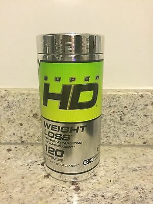 CELLUCOR SUPER HD 60 or 120 caps fat burner weight loss exp 042019
