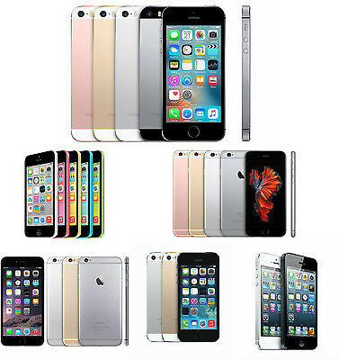 Apple Iphone 5 5C 5S SE 6 6 Plus 4G LTE IOS GSM Factory Unlocked Smartphone