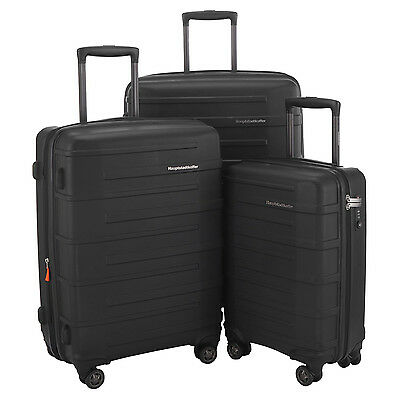 HAUPTSTADTKOFFER Ost 202428 Luggage Suitcase Set Travel Bag TSA Trolley Black