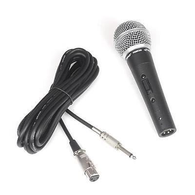 Pyle PDMIC59 Professional Dynamic Microphone Unidirectional Handheld Mic