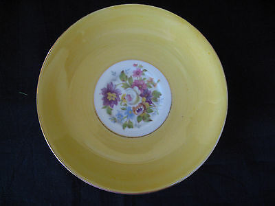 Vintage Colclough Bone China Demitasse Saucer Made in England- MINT condition