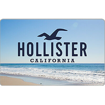 Hollister Co- Gift Card  - 25 50 or 100 - Email delivery