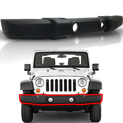 AM New Front Bumper Cover For Jeep Wrangler CH1000900 1FN67RXFAA