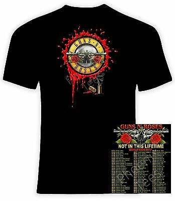 Guns N Roses 2017 Not In This Lifetime Concert T-Shirt