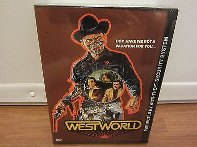 Westworld DVD 2000  Yul Brynner Richard Benjamin   NEW