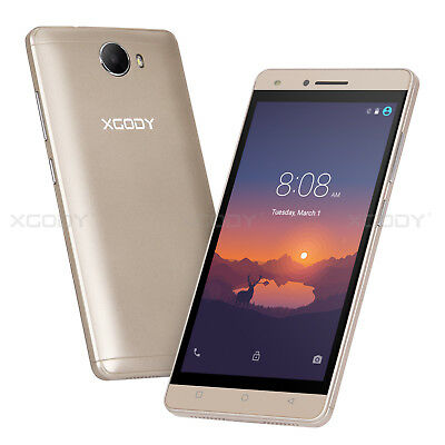 5 Zoll XGODY X14 3G Smartphone ohne Vertrag Handy Quad-Core Android 2SIM 8GB