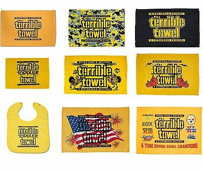 NFL Pittsburgh Steelers Terrible Towel Multiple Styles