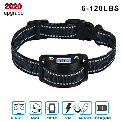 Pet Dog Training Collar Rechargeable Electric LCD 100LV Shock waterproof