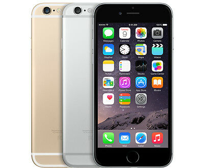 Apple iPhone 6 Smartphone 16GB 64GB Choose AT-T or GSM Unlocked Gold black 4G