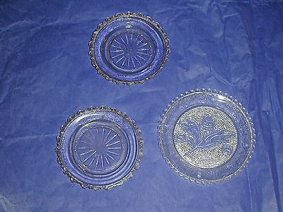 3 EAPG Cup Plates All About 3