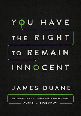 You Have the Right to Remain Innocent Paperback or Softback