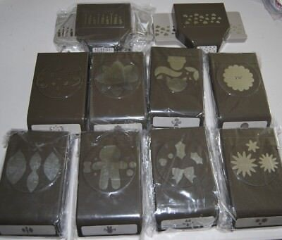 Lot of New Slim Style Stampin Up  Punches - You Choose