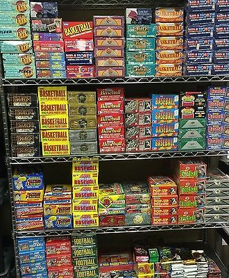 ESTATE LIQUIDATION- LOT OF NEW OLD VINTAGE UNOPENED MLB BASEBALL CARDS IN PACKS