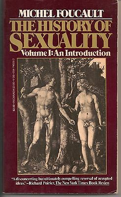The History of Sexuality Vol- 1 by Michel Foucault 1980 Paperback