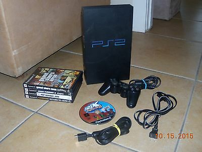Sony PlayStation 2 Console with 6 Games