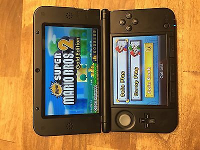 Nintendo 3ds XL New Super Mario Bros Edition w Omega Ruby