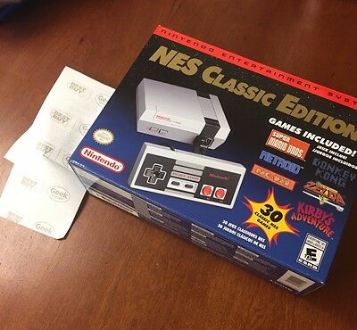 Nintendo Entertainment System NES Classic Edition - Unopened Brand New