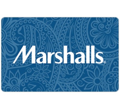 Marshalls Gift Card - 25 50 or 100 - Fast email delivery