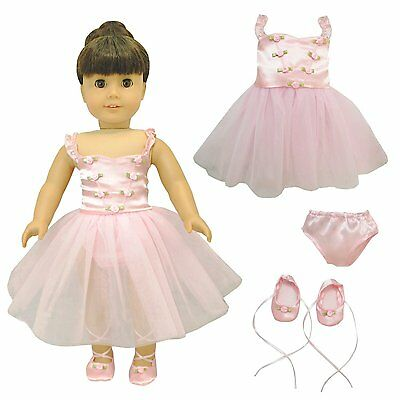 Doll Clothes Ballet Ballerina Outfit Fit American Girl - Other 18 Inch Dolls New