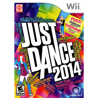 Just Dance 2014 Wii Brand New