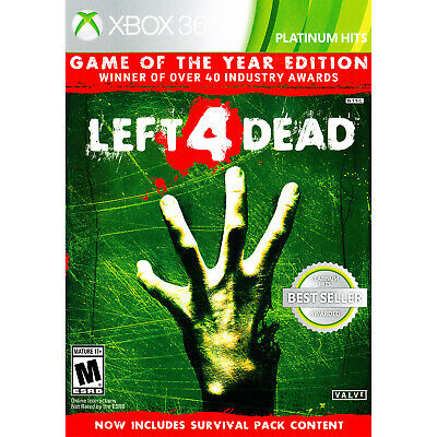 Left 4 Dead - Game of the Year Edition Xbox 360 Brand New