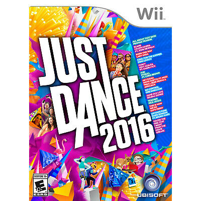 Just Dance 2016 Wii Brand New