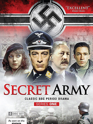Secret Army Series 1 DVD 2014 4-Disc Set NEW SEALED
