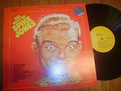 VG - TO VG- SPIKE JONES LP THE BEST OF VOL- 2  STEREO   RCA   1977