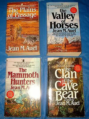 Lot of 4 of The Celebrated Earths Children Series by Jean M- Auel