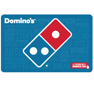Buy a 25 Dominos Gift Card for 20 - Fast Email Delivery