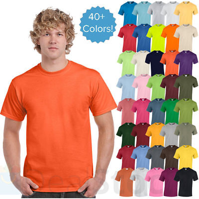 Gildan Tshirt DRY BLEND Short Sleeve Plain Basic T-shirt Tee S-5XL G800