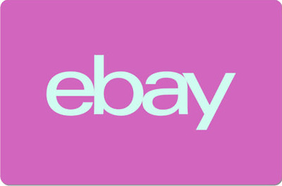eBay Digital Gift Card - Pink One Card So Many Options  - Email Delivery