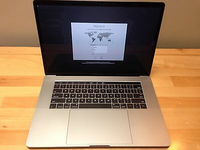 MacBook Pro 15 Retina Late 2016 2-6 GHz Core i7 16GB 256GB SSD w Touch Bar