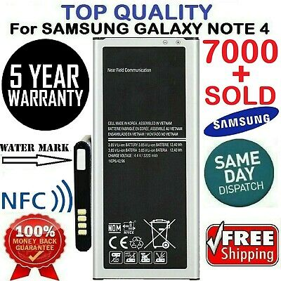 Battery For Samsung Galaxy Note 4 Battery samsung Note4 SM-N910 3220mAh