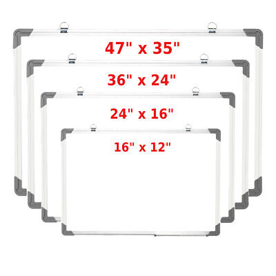 Magnetic Writing Small Medium Large Whiteboard Side Dry Eraser Board Office Home