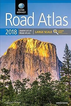 Rand Mcnally 2018 Road Atlas Large Scale
