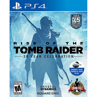 Rise of the Tomb Raider PS4 Brand New