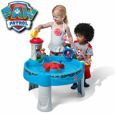 Step2 Paw Patrol Water Table Sensory Play Backyard Toy for Toddlers