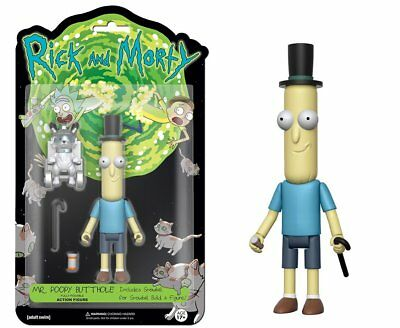 Rick and Morty 5 Funko Action Figure Mr- Poopy Butthole